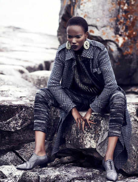 Herieth Paul for Fashion Magazine September 2013 Issue - BellaNaija - September 2013 (1)