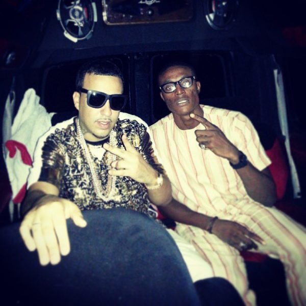Ice Prince French Montana - Septmeber 2013 - BellaNaija (2)