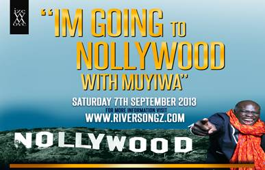 I'm Going to Nollywood with Muyiwa - September 2013 - BellaNaija