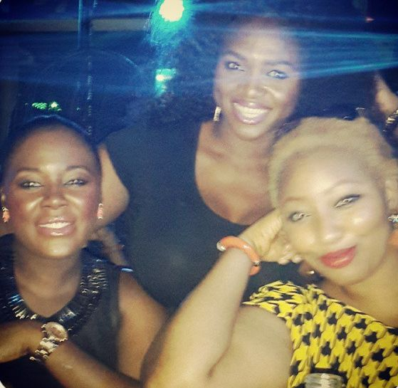 Latasha Ngwube & Waje - September 2013 - BellaNaija