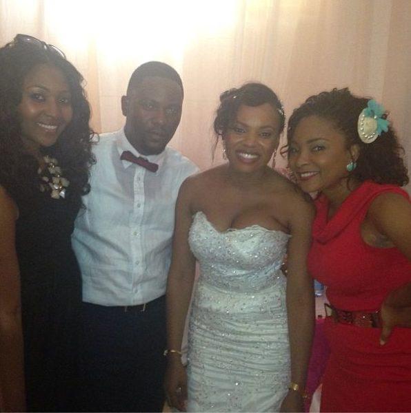 Lilian Esoro, Arnold Mozia, Matilda Obaseki & Linda Ejiofor - September 2013 - BellaNaija
