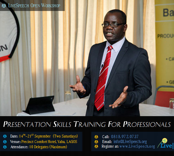 Live Speech Open Workshop - September 2013 - BellaNaija