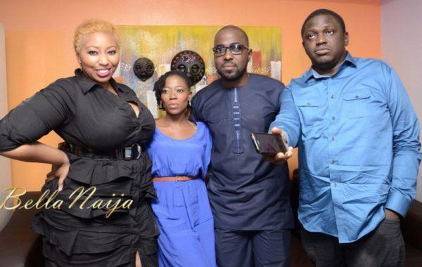 Latasha Ngwube, Tosyn Bucknor, DJ Caise & Illbliss