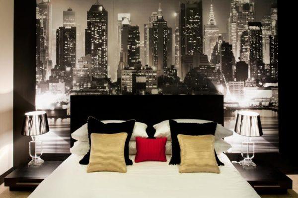 Interiors of room Manhattan