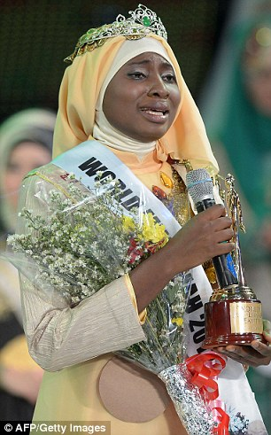 Muslimah World 2013 Obabiyi Aishah Ajibola - September 2013 - BellaNaija