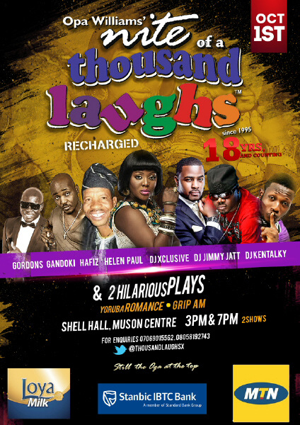 Nite of a Thousand Laughs - BellaNaija - August 2013