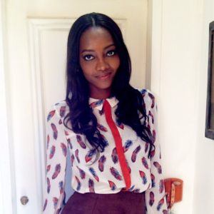 Oluchi looks so good, even I, think I'll look good in that blouse.