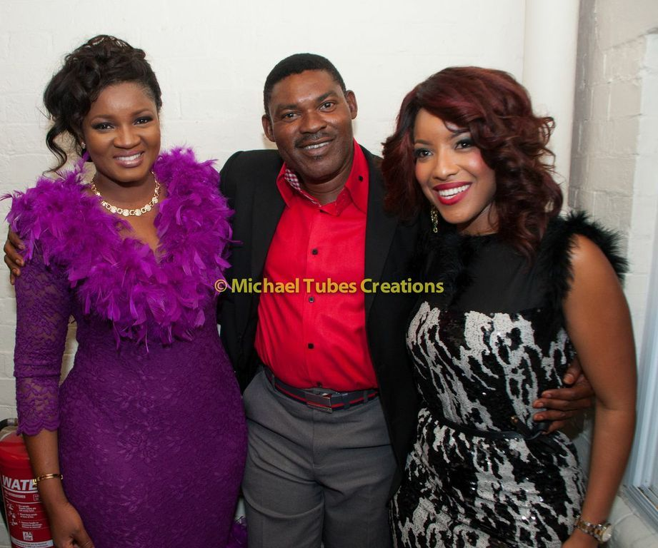Cute Clan! Omotola Jalade-Ekeinde spotted with her Family ...