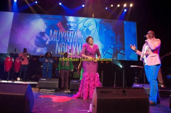 Omotola Jalade-Ekeinde & Family at Muyiwa Goes to Nollywood Show in London - September 2013 - BellaNaija - BN 023