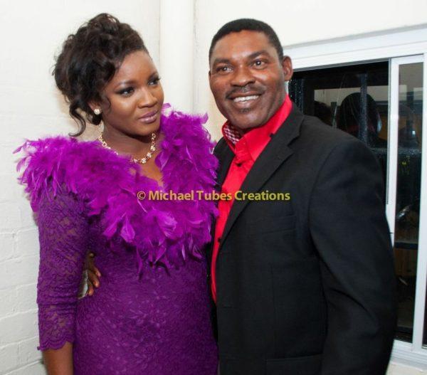 Omotola Jalade-Ekeinde & Family at Muyiwa Goes to Nollywood Show in London - September 2013 - BellaNaija - BN 024