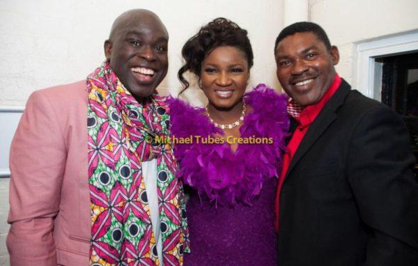 Omotola Jalade-Ekeinde & Family at Muyiwa Goes to Nollywood Show in London - September 2013 - BellaNaija - BN 026