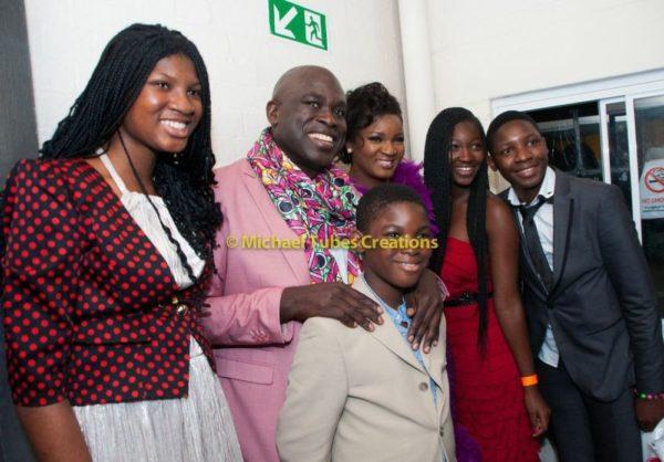 Omotola Jalade-Ekeinde & Family at Muyiwa Goes to Nollywood Show in London - September 2013 - BellaNaija - BN 027