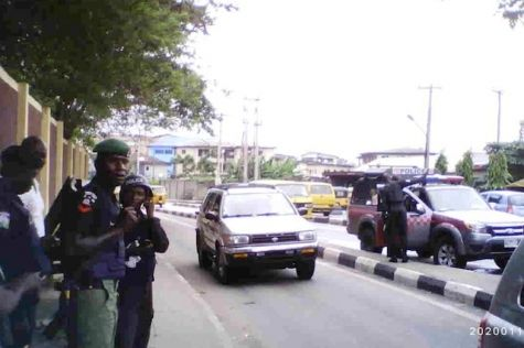 Police Officers are Stationed at UNILAG Gate - September 2013 - BellaNaija - 025