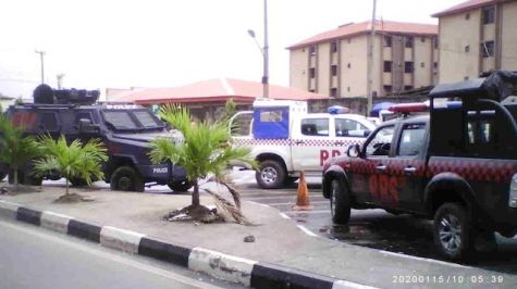 Police Officers are Stationed at UNILAG Gate - September 2013 - BellaNaija - 029