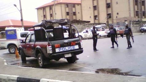 Police Officers are Stationed at UNILAG Gate - September 2013 - BellaNaija - 035
