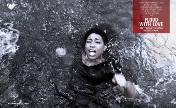 Rita Dominic stars in Flood with Love Campaign - September 2013 - BellaNaija - BN 021