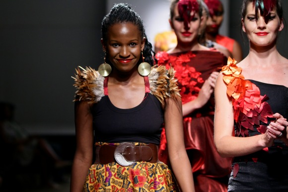 Rumbie by Rumbie SS14 Collection Zimbabwe Fashion Week 2013 - BellaNaija - September 2013 (1)