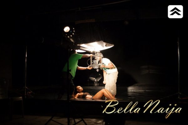 Sean Tizzle Mama Eh BTS - September 2013 - BellaNaija (13)