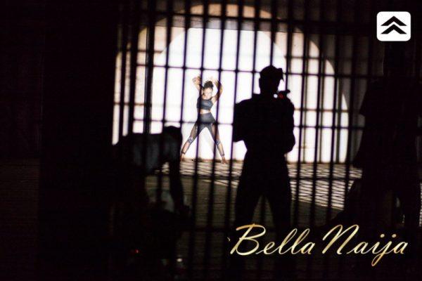 Sean Tizzle Mama Eh BTS - September 2013 - BellaNaija (8)