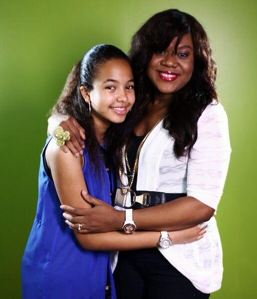 Stella Damasus & Daughter - September 2013 - BellaNaija