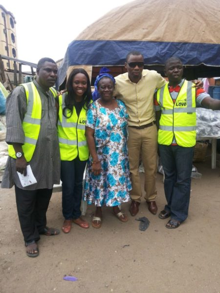 TV Personality Ariyike Akinbobola donates Back-To-School Items for Children in Ajegunle- September 2013 - BellaNaija - 026