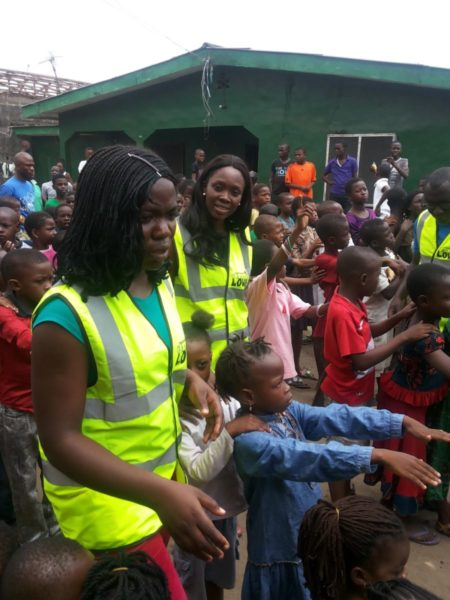 TV Personality Ariyike Akinbobola donates Back-To-School Items for Children in Ajegunle- September 2013 - BellaNaija - 028