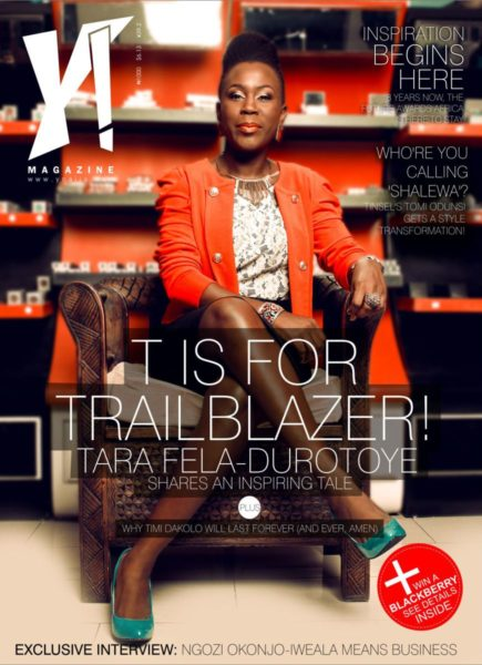 Tara Fela-Durotoye & Timi Dakolo cover Y! Magazine's New Issue - September 2013 - BellaNaija - 021