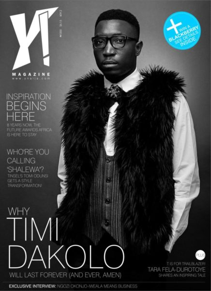 Tara Fela-Durotoye & Timi Dakolo cover Y! Magazine's New Issue - September 2013 - BellaNaija - 023