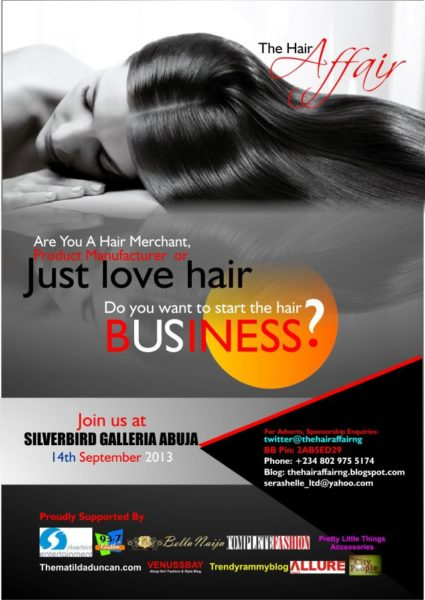 The Hair Affair - September 2013 - BellaNaija