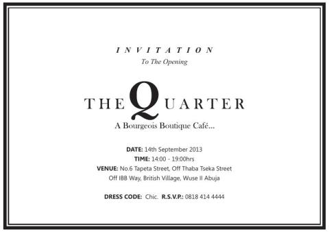 The Quarter - September 2013 - BellaNaija