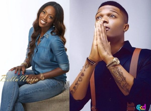 Tiwa Savage & Wizkid - September 2013 - BellaNaija
