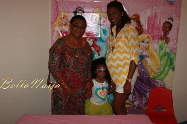 Zahra Agwu 4th Princess Themed Birthday Party - September 2013 - BellaNaija - 046
