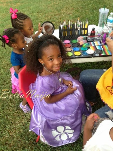 Zahra Agwu 4th Princess Themed Birthday Party - September 2013 - BellaNaija - 048