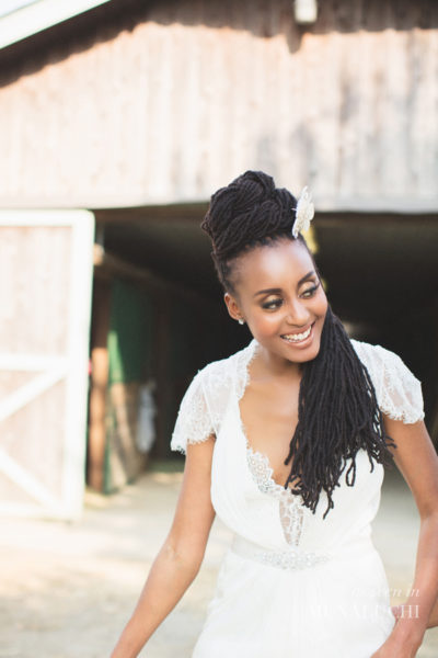 natural hair dreadlocks black bride bellanaija munaluchi
