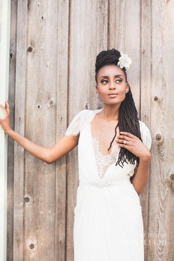 Black Girl Wedding Dresses 71 Simple natural hair dreadlocks black