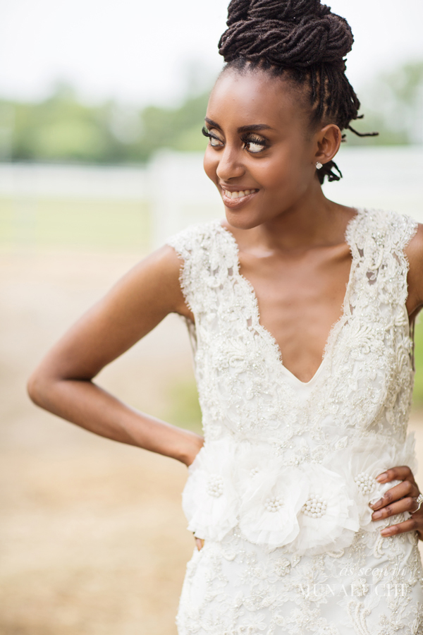 Locked & Lovely! Natural Hair Bridal & Fashion Inspiration