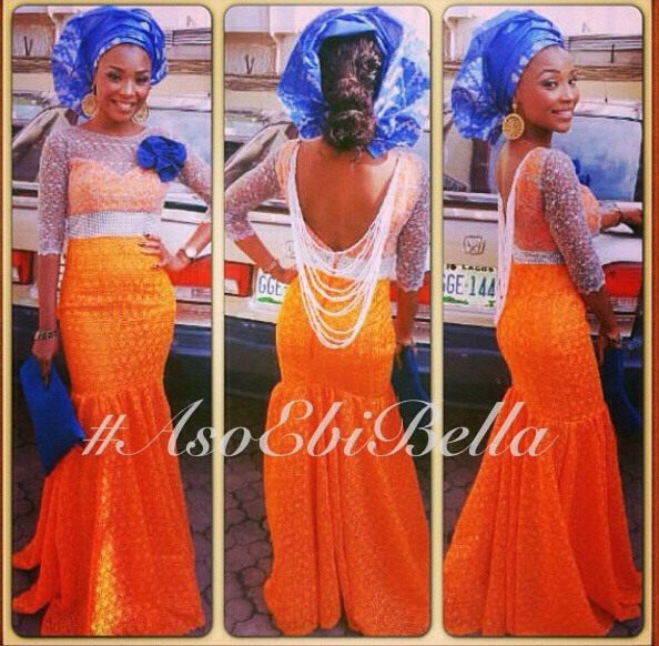gele ichafu nigerian naija aso ebi traditional wedding velvet pearls backless
