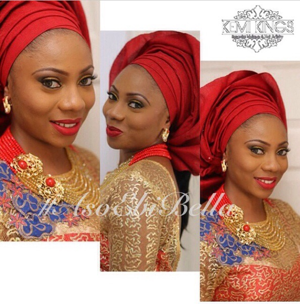 gele aso oke aso ebi kemi kings makeup beads