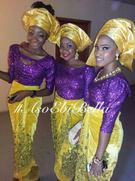 aso ebi asoebi bellanaija nigerian wedding guest sequins velvet
