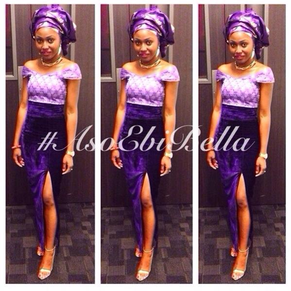 aso ebi asoebi bellanaija nigerian wedding guest velvet