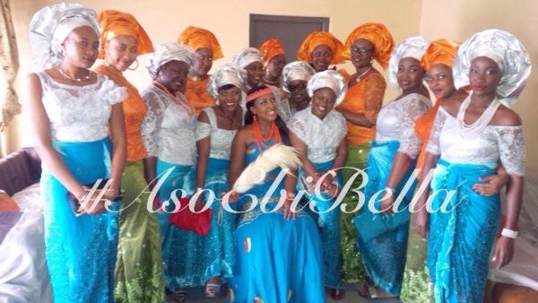 aso ebi asoebi bellanaija nigerian wedding guest gele ore iyawo