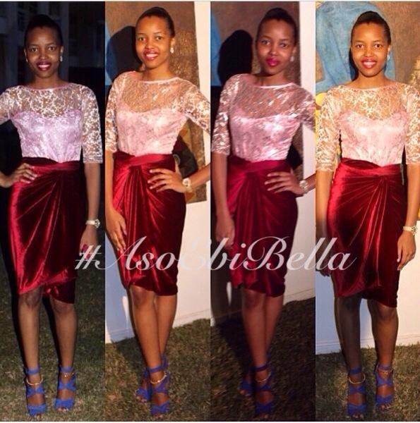 aso ebi asoebi bellanaija nigerian wedding guest velvet knot wrapper