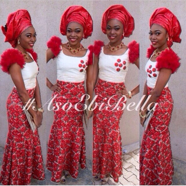 aso ebi gele asoebi bella bellanaija nigerian wedding