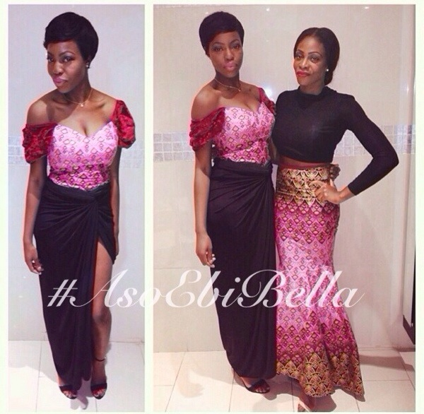 aso ebi asoebi asoebibella nigerian wedding guest bellanaija knot wrapper velvet