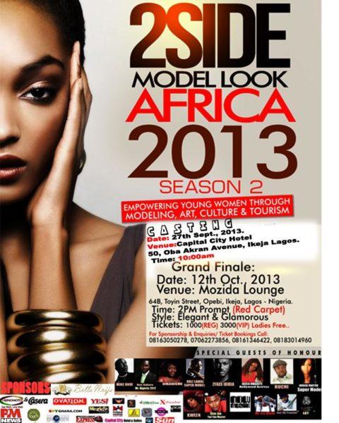 2Side Model Look Africa 2013 Season 2
