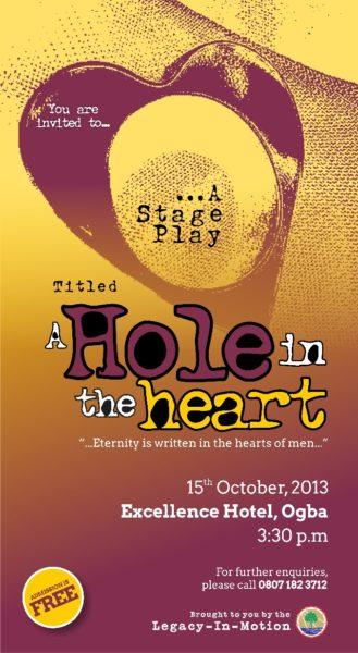 A Hole in the Heart - October 2013 - BellaNaija