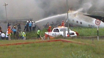 AA Plane Crash in Lagos