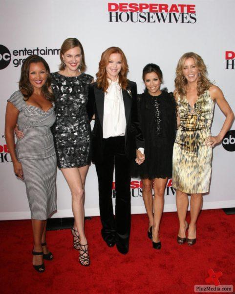 Vanessa Williams, Brenda Strong, Marcia Cross, Eva Longoria & Felicity Huffman