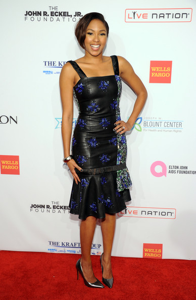 Alicia Quarles in Jewel By Lisa AutumnWinter 2013 Collection at Elton John AIDS Benefit - BellaNaija - October 2013 (1)