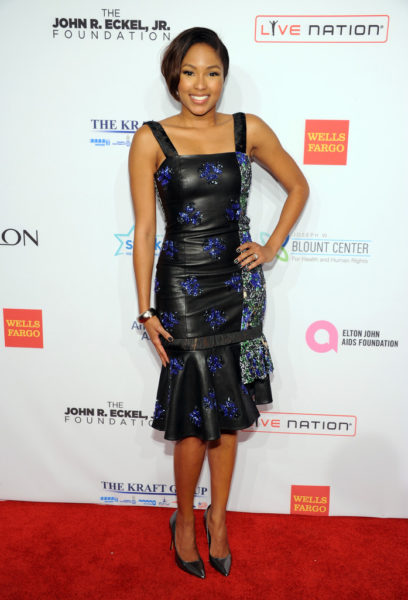 Alicia Quarles in Jewel By Lisa AutumnWinter 2013 Collection at Elton John AIDS Benefit - BellaNaija - October 2013 (3)